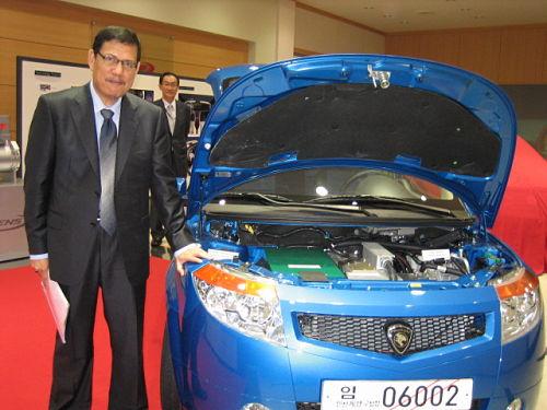 proton electric car