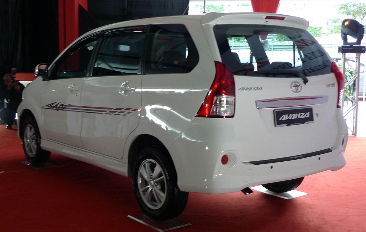 Toyota Avanza baru dilancarkan