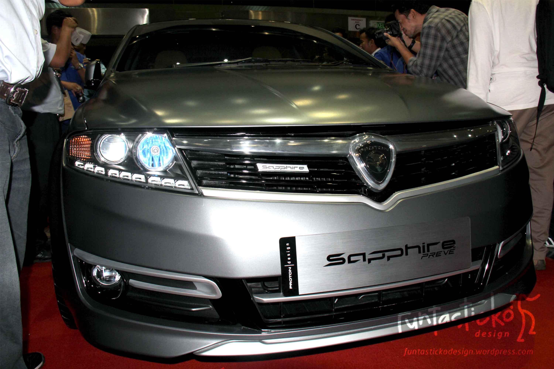 Proton Preve Facelift >> Proton Prevé SAPPHIRE | funtasticko design