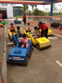 Younger children between the ages  of 3 to 5 are not left out as they can attend the Junior Driving  School.